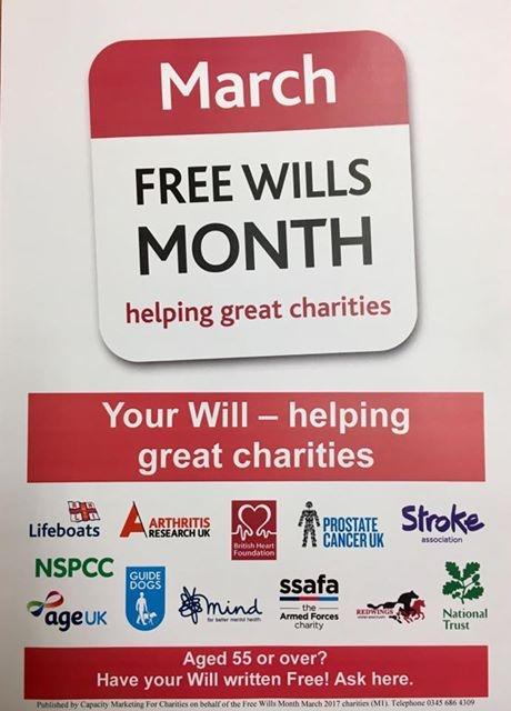 FREE WILL MONTH POSTER
