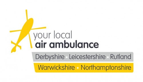 Logo of our chosen charity the local Air Ambulance