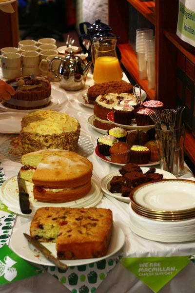 Macmillan Cake & Coffee Morning