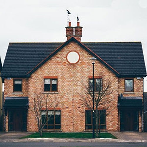 A semi-detached family home (file photo)